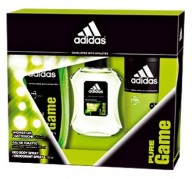 Adidas Pure Game edt 100ml + Shower Gel 250ml + After Shave Balm 150ml