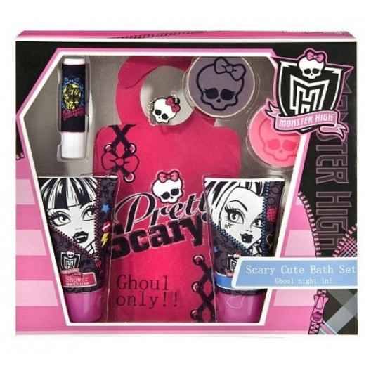 Set De Baño Para Ninos:Inicio Perfumes Niños Monster High Monster High Set de Baño 6 Piezas