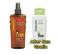 Babaria OIL DRY SPF20 200ml + AFTER SUN 150ml