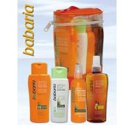 Babaria Pack Bag: Solar + Oil + Milk + After Sun + Hair Protector