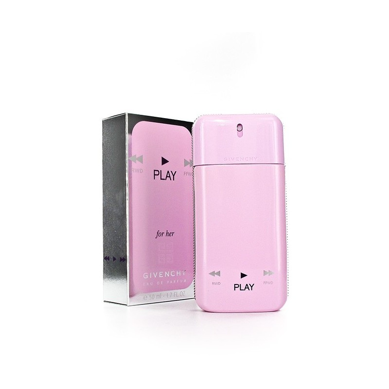 Givenchy PLAY for her sensual perfume for women