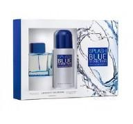 Antonio Banderas Blue Splash edt 100ml + Deo 150ml