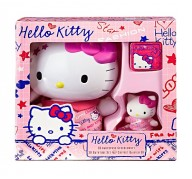 Hello Kitty bath gel with magic towel