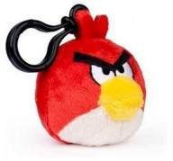 Peluche porte-clés rouge Angry Birds