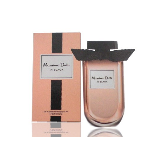 Parfum Massimo Dutti In Black for Her
