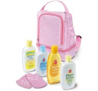 Johnson's Baby  Pink backpack