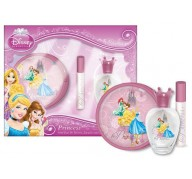 Princess Diney edt 50ml + Lip Gloss 5 ml + Purse