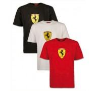 Camiseta Escudo Grande Ferrari