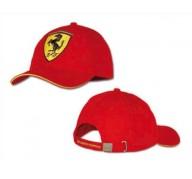 Gorra roja SCUDERIA FERRARI Logo Grande