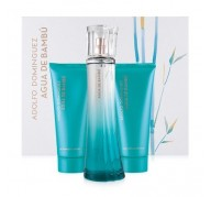 Agua de Bambu edt 100ml + Gel 100ml + Body Milk 100ml