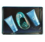 U Blue Woman edt 100ml + Gel  50ml + Body Lotion 50ml