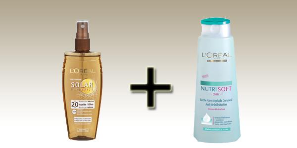 Loreal Aceite Protección solar + body milk